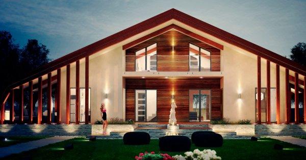 Для климата России Компания «Apriori Albero» разработала быстровозводимые дома