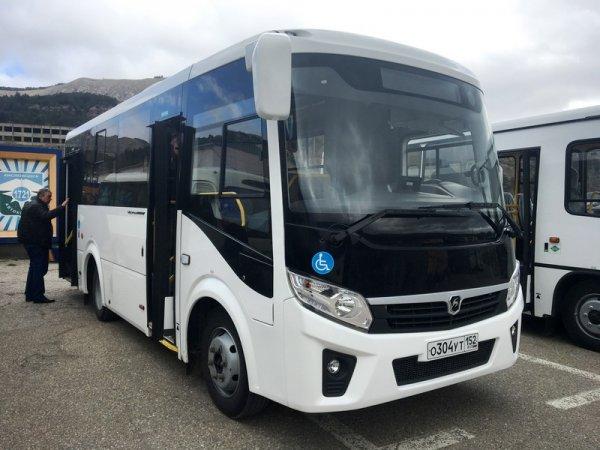 В Кисловодске показали новые модели российских автобусов