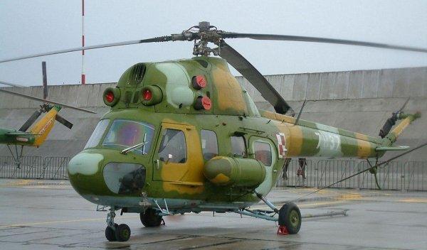 В Ставрополье потерпел крушение вертолет