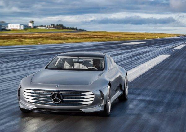 Mercedes-Benz выпустит роскошный электроседан EQS к 2020 году