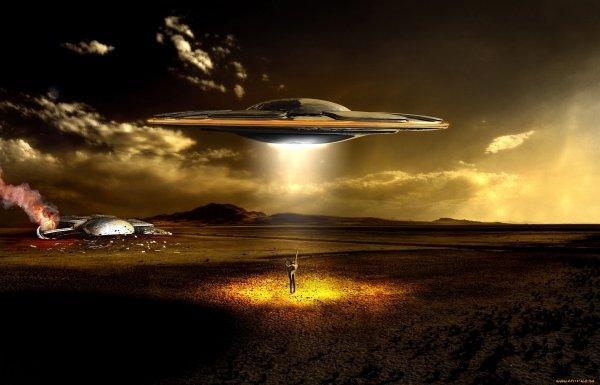 В небе над Манчестером обнаружили НЛО