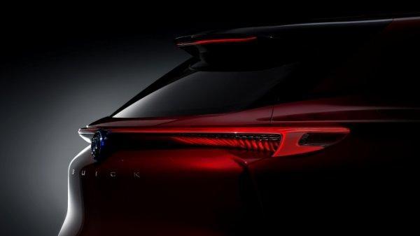 Новый концепт электрокроссовера Buick Enspire представят в Пекине