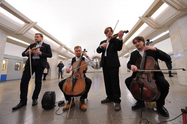 Для проекта «Музыка в метро» в Москве выбрали более 200 участников