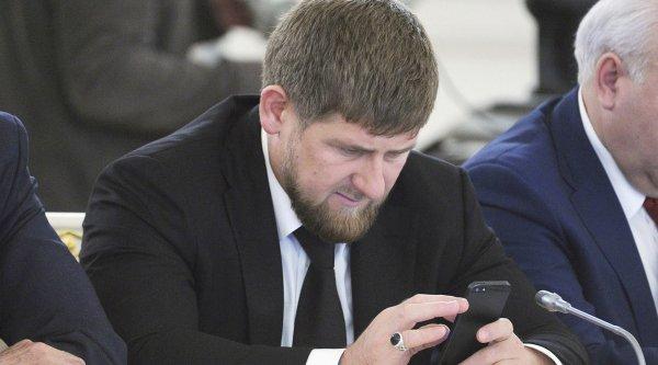 Стало известно, почему Facebook заблокировал аккаунты Кадырова