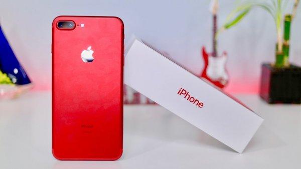 В Сети появились эксклюзивные обои для нового красного iPhone 8