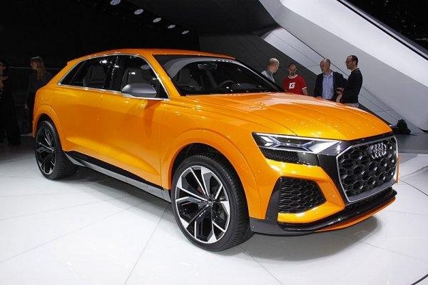В Подмосковье заметили новый кроссовер Audi SQ8