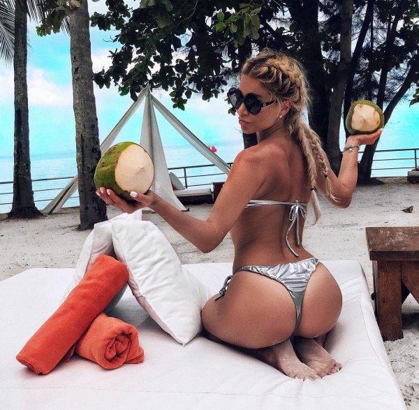 Белла Потемкина в рекламе кокоса использовала свой «орех»