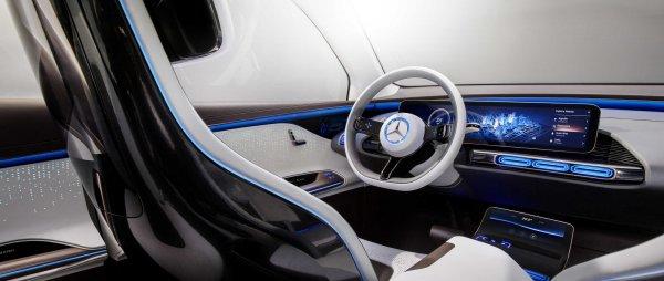 Mercedes-Benz выпустит электроседан S-Class для конкуренции с Tesla Model S