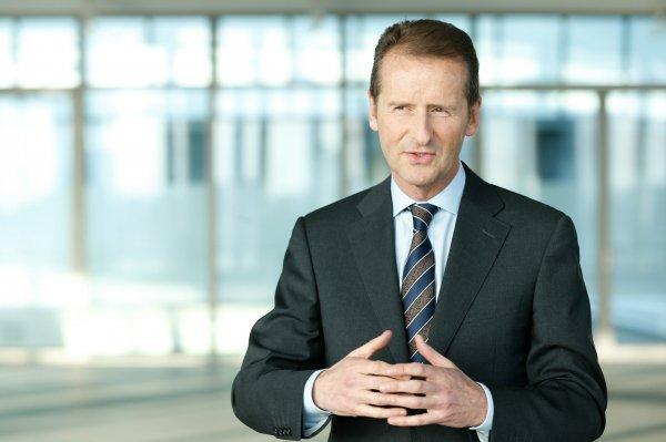 Герберт Дисс стал новым главой Volkswagen Group