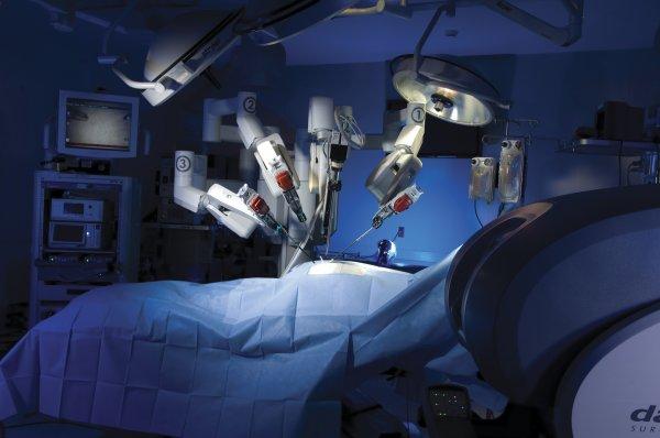 В России создали робота-хирурга