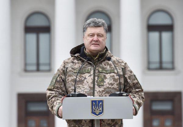 Порошенко обратился к ООН с просьбой направить в Донбасс миротворцев