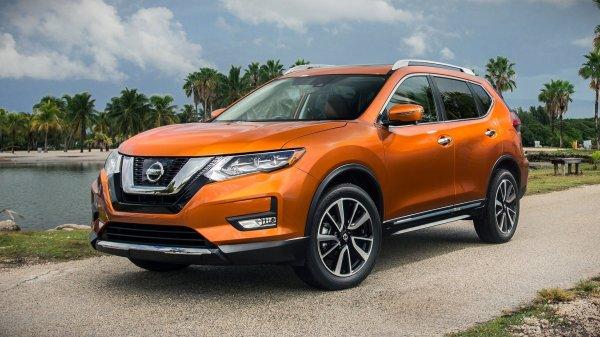 Nissan X-Trail в марте стал бестселлером бренда в России