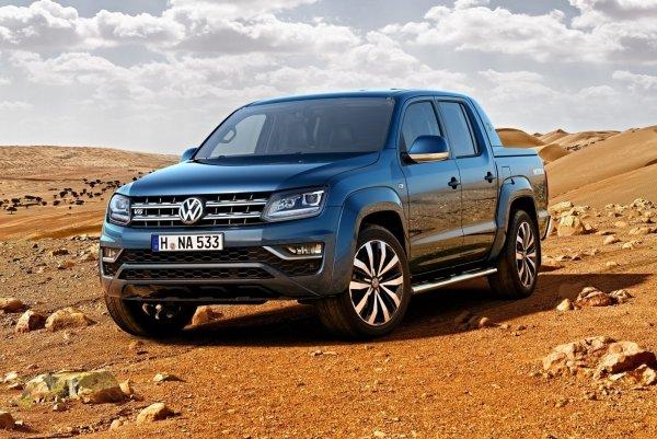 Пикап Volkswagen Amarok прибавил в цене 52-65,2 тыс. рублей