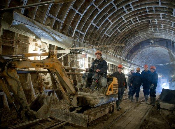 В Москве приступили к строительству большого подземного кольца