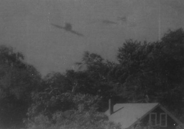 Ученые обнаружили НЛО начерно-белых фото 50-х годов