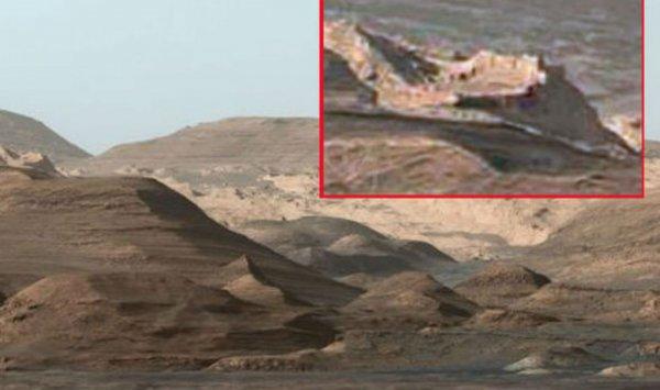 Российский уфолог обнаружил на Марсе останки развитой цивилизации