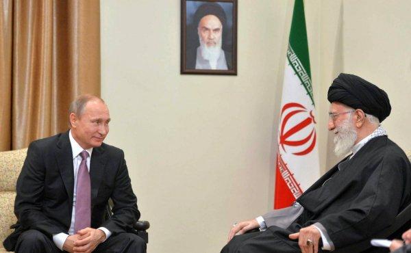 Путин обсудил с Рухани текущую ситуацию в Сирии