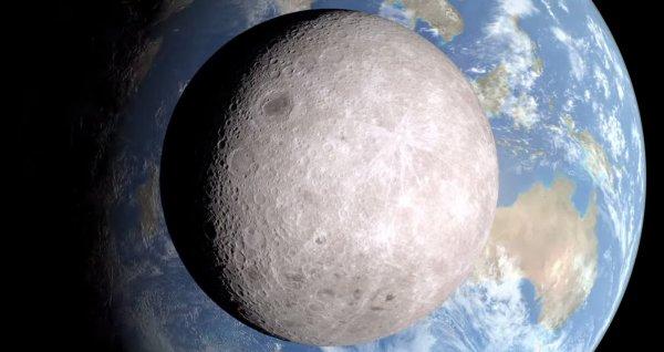 На Луне обнаружено куполообразное судно инопланетян