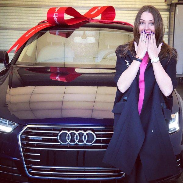 Дмитрий Дибров подарил жене элитную Audi за несколько миллионов
