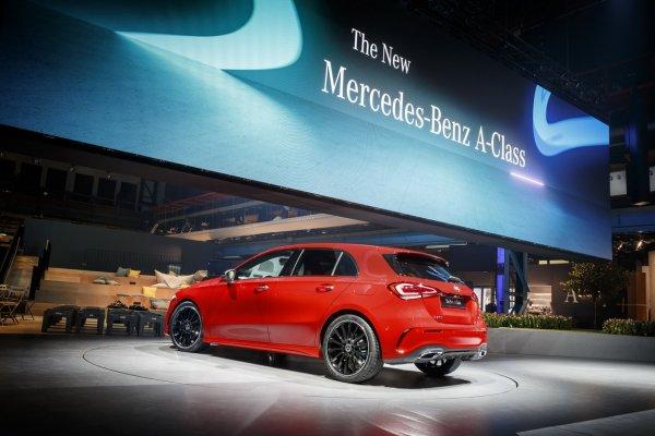 Озвучен ценник на новый Mercedes-Benz A-Class для России