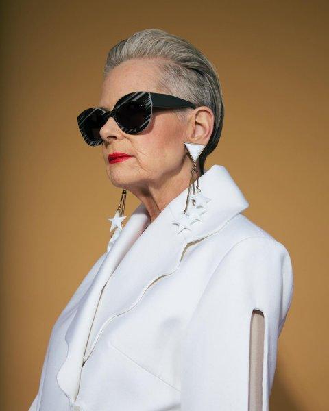 64-летняя пенсионерка-профессор решила стать моделью