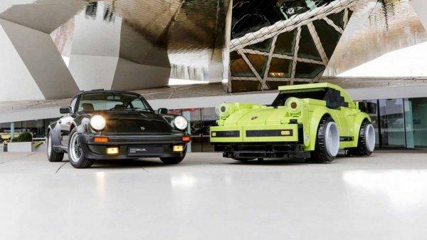 Porsche собрала спорткар 911 Turbo из кубиков LEGO