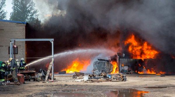 Из-за пожара в Ярославле образовалась девятибалльная пробка