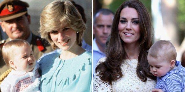 Эксперт по языку тела: Принцесса Диана и Кейт Миддлтон - хорошие мамы