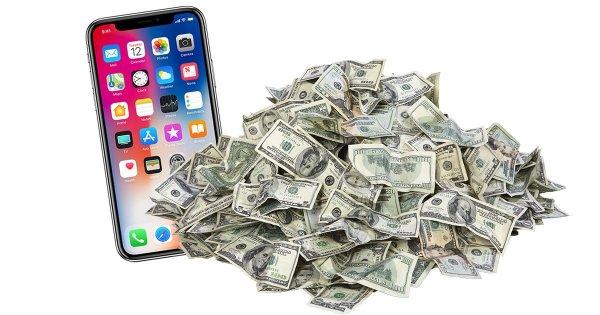 iPhone X назвали самым прибыльным смартфоном мира