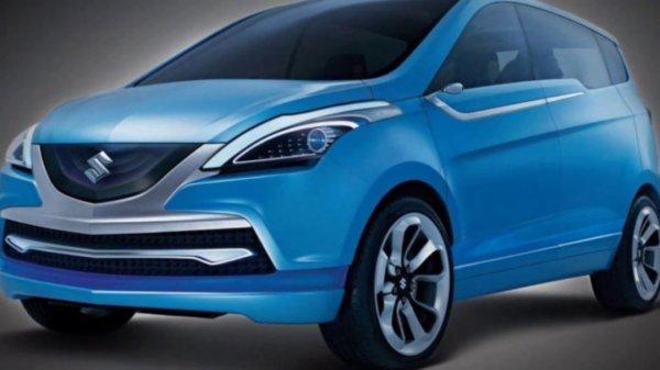 Новый компактвэн Suzuki Ertiga рассекречен за день до дебюта