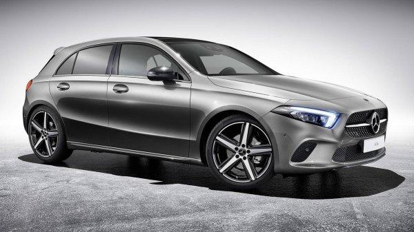 Для обновленного Mercedes A-Class представлен набор дополнений
