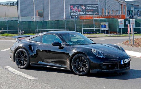 Porsche 911 Turbo получит подвижное антикрыло