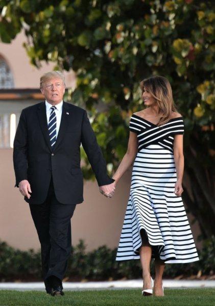 Жена Дональда Трампа удивила всех своим нарядом