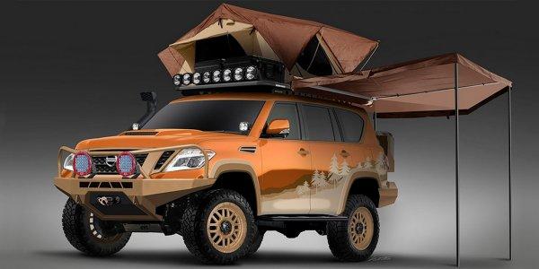 Подписчики Nissan смогут определить оформление нового Armada
