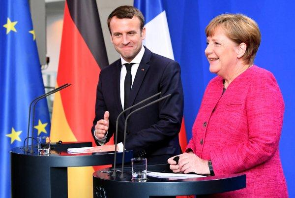 Меркель и Макрон собирают реформировать ЕС и изменить систему приема мигрантов