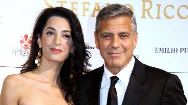 Репортеры сфотографировали дочь Джорджа Клуни