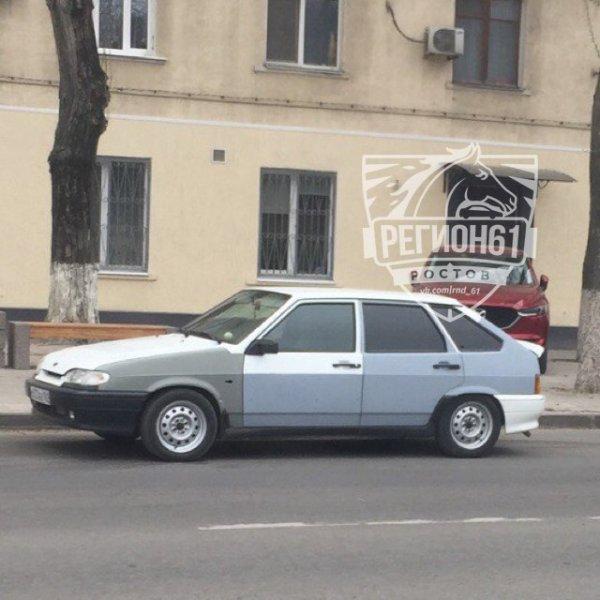 В Ростове-на-Дону заметили необычный