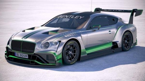 Гоночный Bentley Continental GT3 готовится к выходу