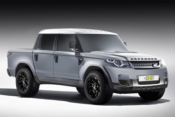 Пикап Land Rover Defender станет конкурентом Mercedes-Benz X-Class