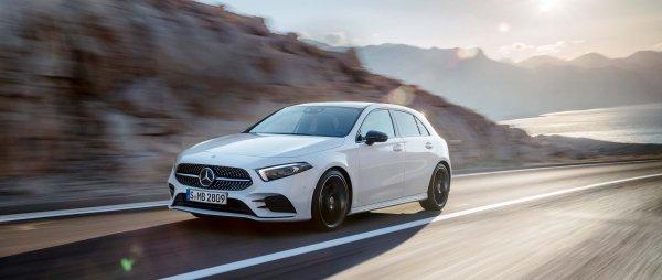 Новый седан Mercedes-Benz A-Class рассекречен раньше времени