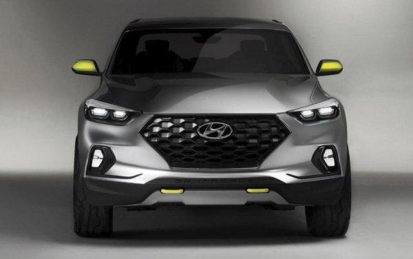Hyundai к 2020 году выпустит долгожданный пикап Santa Cruz