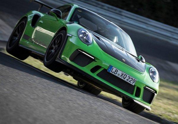 Новый Porsche 911 GT3 RS проехал по «Нордшляйфе» быстрее семи минут