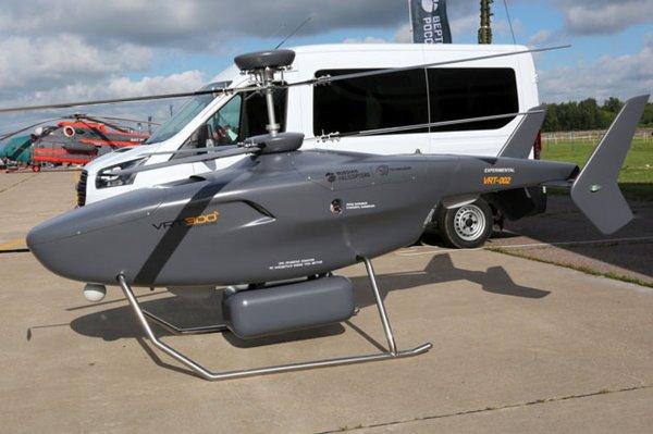 «Вертолеты России» приступили к стендовым испытаниям беспилотника VRT300