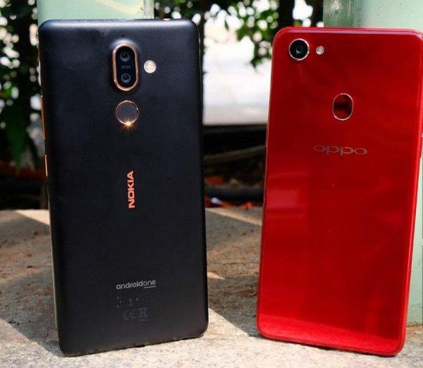Эксперты назвали преимущества и недостатки Nokia 7 Plus и Oppo F7