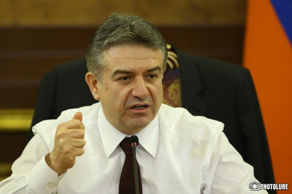 Вице-премьер Армении Карен Карапетян призвал оппозицию к диалогу