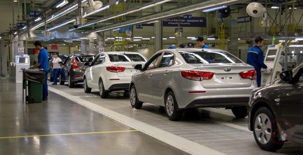 Петербургские авто вошли в ТОП-25 самых продаваемых в России машин
