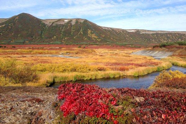 Аномальное озеро образовалось в поселке Усть-Авам