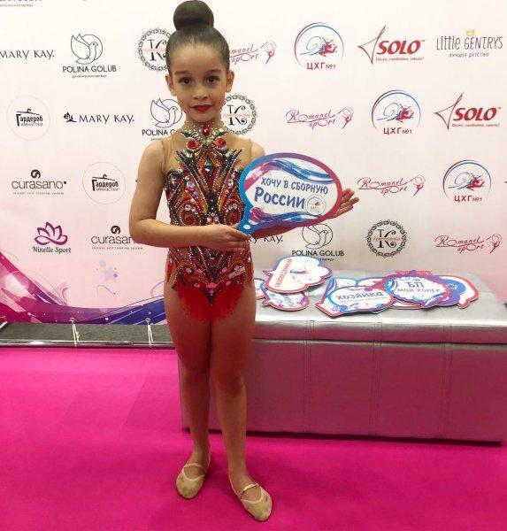 Старшая дочь Ксении Бородиной хочет попасть в сборную России