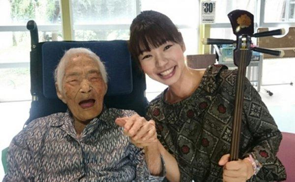 В Японии умерла старейшая жительница планеты