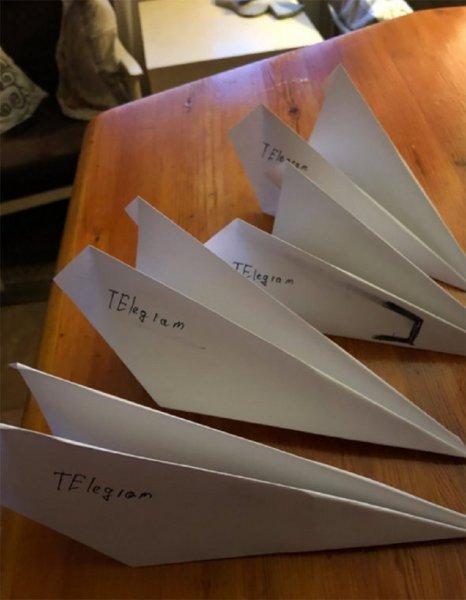 Поддержали Telegram: Россияне массово запустили бумажные самолетики